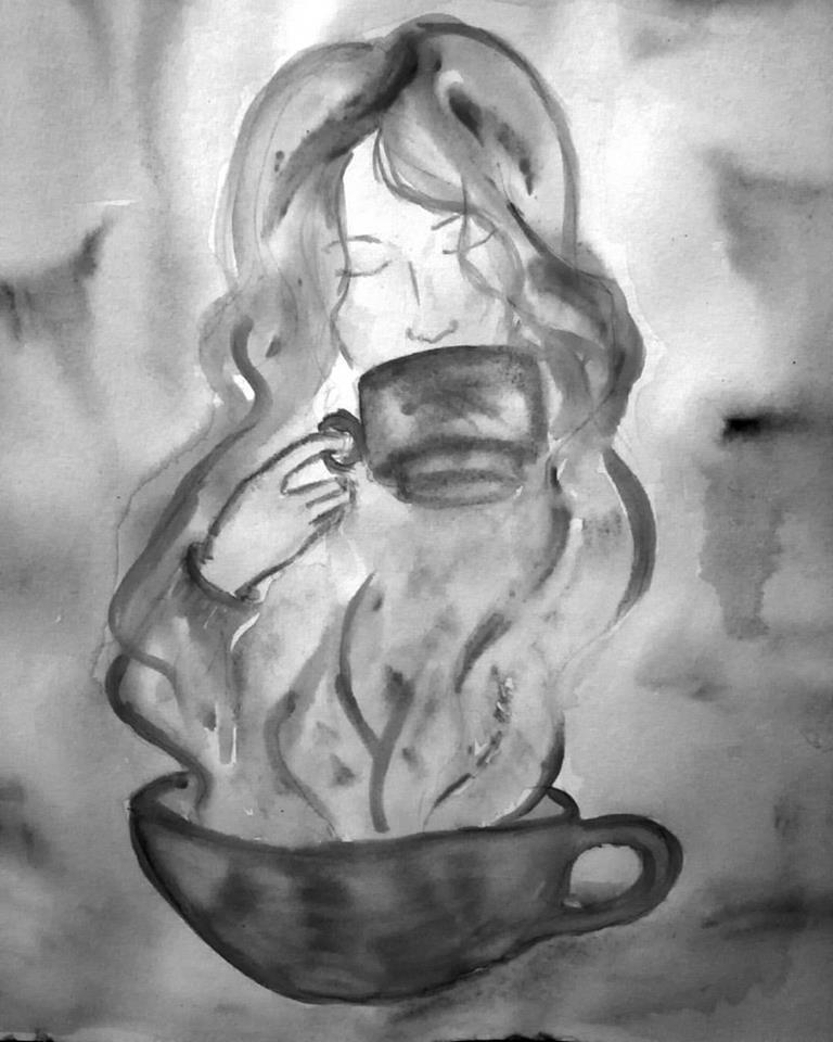 Рисунок с арт-психологической мастерской Акварель Жизни