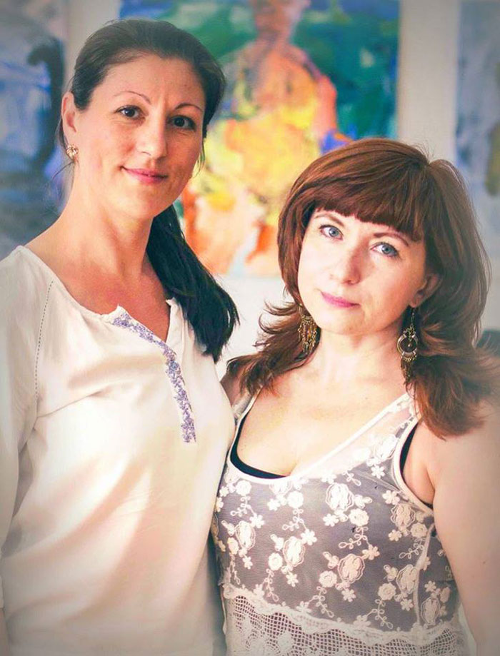 Наталия Руберте и Татьяна Власова