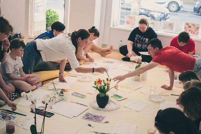 Арт-психологическая мастерская Акварель Жизни: взрослые рисуют