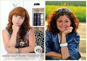 Фото: Севиль Энгель, Наталия Руберте - ведущие семинаров по психосоматике