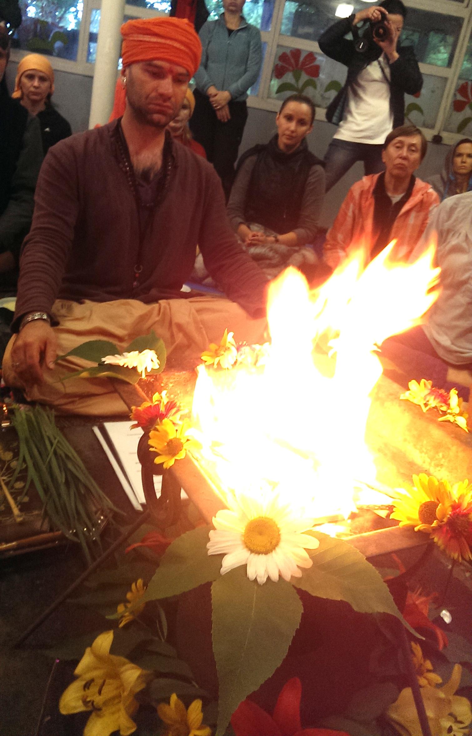 Сатсанг Йоги Адьянатха Махараджа в Кривом Роге