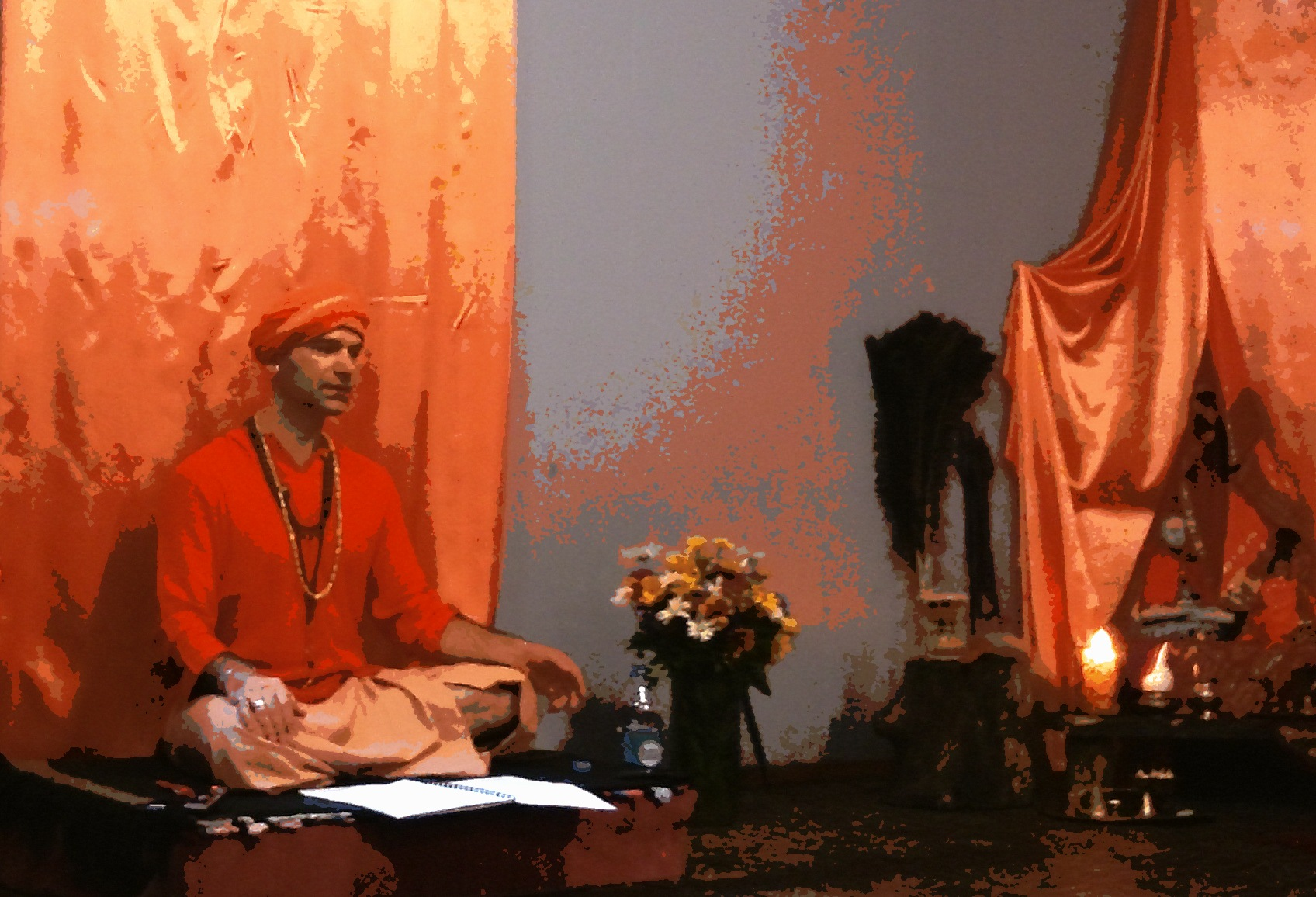 Сатсанг Йоги Адьянатха Махараджа в Кривом Роге.